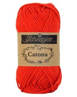 Scheepjes Catona 50 gram 115 Hot Red