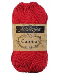 Scheepjes Catona 50 gram 192 Scarlet