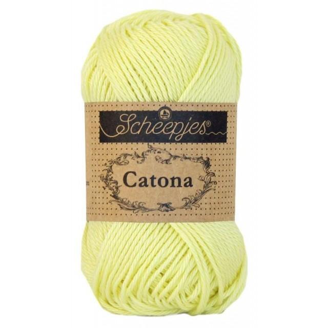Scheepjes Catona 100 Lemon Chiffon