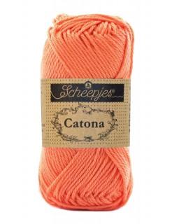 Scheepjes Catona 25 gram 410 Rich Coral