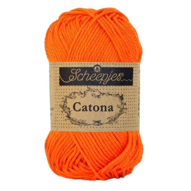 Scheepjes Catona 189 Royal Orange