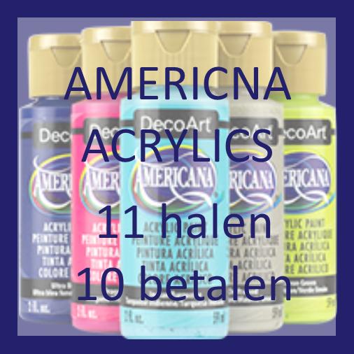 American verf 11 halen 10 betalen